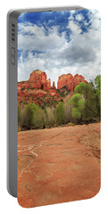 Portable Battery Charger featuring the photograph Cathedral Rock Sedona by James Eddy