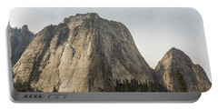 Cathedral Spires Yosemite Valley Yosemite National Park Portable Battery Charger