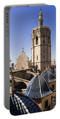 Cathedral Valencia Micalet Tower Portable Battery Charger