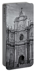 Portable Battery Charger featuring the photograph Cathedral Valencia Spain by Joan Carroll
