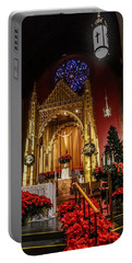 Catholic Christmas Portable Battery Charger
