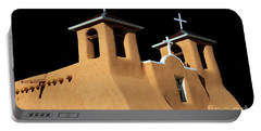 Portable Battery Charger featuring the photograph St Francis De Assi Church  New Mexico by Bob Christopher