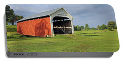 Catlin Covered Bridge, Rockville, Indiana Portable Battery Charger