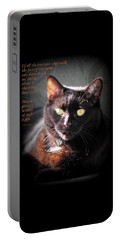 Cats Chose Us Portable Battery Charger