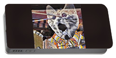 Cats On Congress Portable Battery Charger