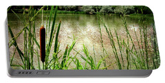 Cattail Reflections Portable Battery Charger