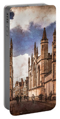 Oxford, England - Catte Street Portable Battery Charger