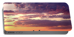 Cattle Ridge Sunset Portable Battery Charger