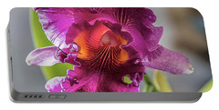 Cattleya Portable Battery Charger by Alana Thrower