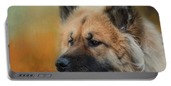 Caucasian Shepherd Dog Portable Battery Charger by Eva Lechner