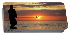 Caught At Sunset Portable Battery Charger