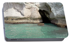 Portable Battery Charger featuring the photograph Cave Entranve by Yurix Sardinelly