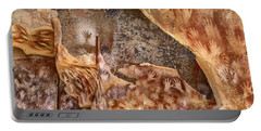 Cave Of The Hands Patagonia Argentina Portable Battery Charger