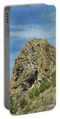 Portable Battery Charger featuring the photograph Cave Rock At Tahoe by Benanne Stiens
