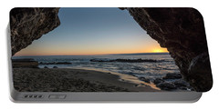 Cave Sunset Portable Battery Charger