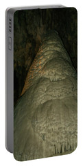 Cavern Stalagmite Portable Battery Charger by James Gay