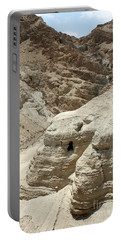 Caves Of The Dead Sea Scrolls Portable Battery Charger