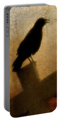 Cawing Night Crow Portable Battery Charger