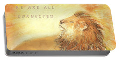 Cecil The Lion Portable Battery Charger