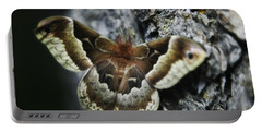 Cecropia Moth Portable Battery Charger