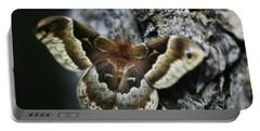 Cecropia Moth Portable Battery Charger