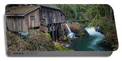 Cedar Grist Mill Portable Battery Charger