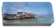 Portable Battery Charger featuring the photograph Cedar Key by John M Bailey