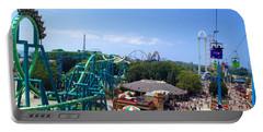 Cedar Point Amusement Park Portable Battery Charger