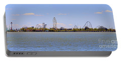 Cedar Point Panorama1aaa Portable Battery Charger