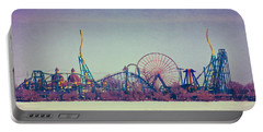 Cedar Point Skyline Portable Battery Charger