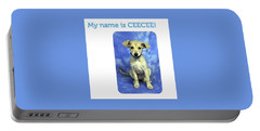 Ceecee Portable Battery Charger by Carol Cavalaris