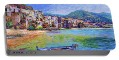 Cefalu Sicily Italy Portable Battery Charger
