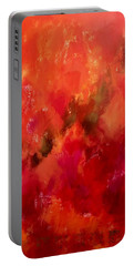 Celebrations Wedding Orange Abstract  Portable Battery Charger