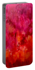 Celebrations Wedding Pink Abstract  Portable Battery Charger