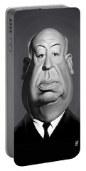 Celebrity Sunday - Alfred Hitchcock Portable Battery Charger