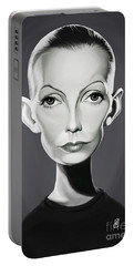 Celebrity Sunday - Greta Garbo Portable Battery Charger