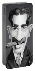 Celebrity Sunday - Groucho Marx Portable Battery Charger by Rob Snow