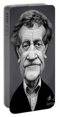 Celebrity Sunday - Kurt Vonnegut Portable Battery Charger