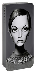 Celebrity Sunday - Twiggy Portable Battery Charger by Rob Snow