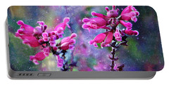Celestial Blooms-2 Portable Battery Charger