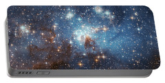 Portable Battery Charger featuring the photograph Celestial Season's Greetings From Hubble by Nasa