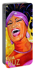 Celia Cruz Portable Battery Charger