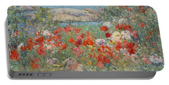 Celia Thaxter's Garden, Isles Of Shoals, Maine Portable Battery Charger