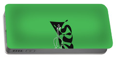 Cello In Green Portable Battery Charger