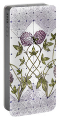 Celtic Clover Portable Battery Charger