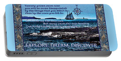 Celtic Explorer - Bluenose II In Halifax Harbour Portable Battery Charger