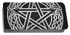 Celtic Pentagram Portable Battery Charger