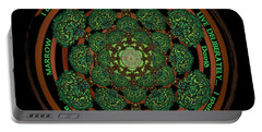 Celtic Tree Of Life Mandala Portable Battery Charger