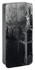 Cemetery  Fence Portable Battery Charger