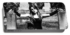 Cemetery Girl Portable Battery Charger